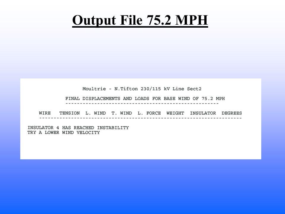 Output File 75.2 MPH