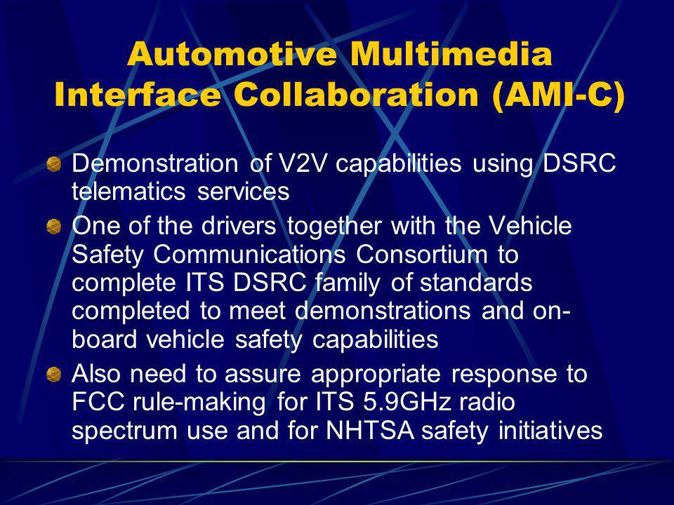Automotive Multimedia Interface Collaboration (AMI-C)
