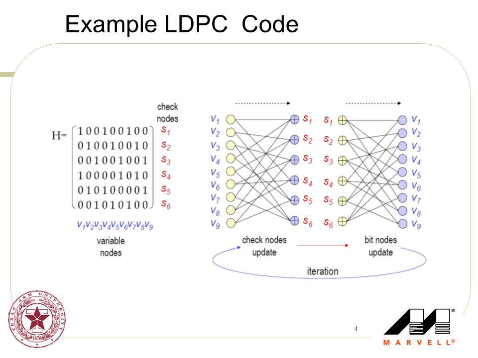 Example LDPC Code