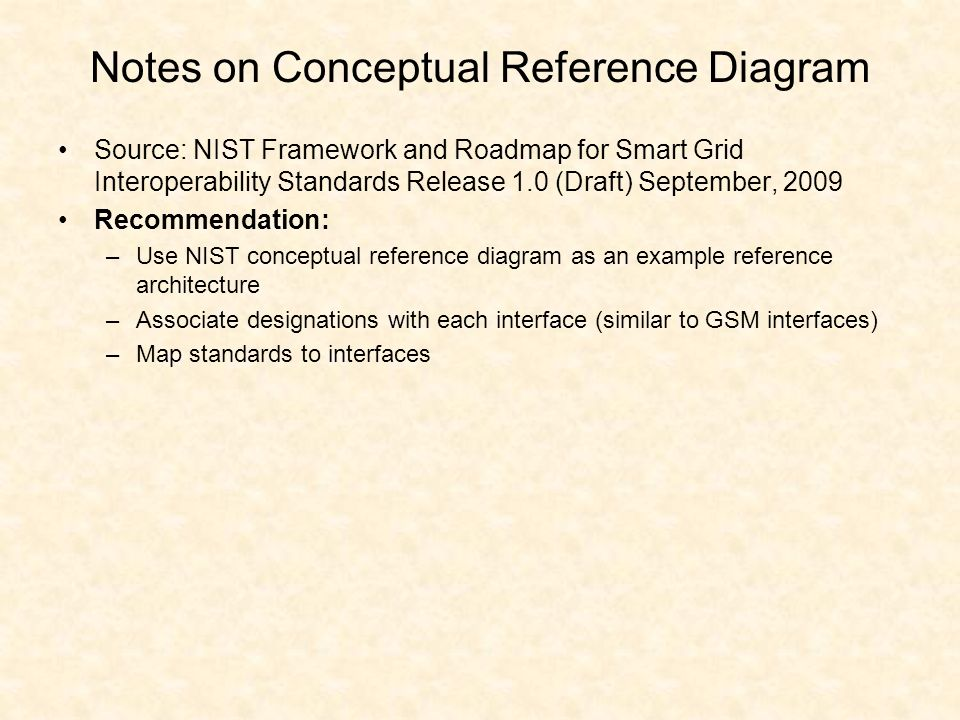 Notes on Conceptual Reference Diagram