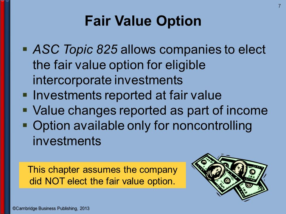 Fair value option trading securities
