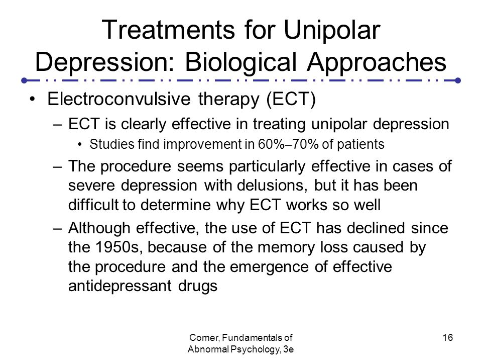 treatments for depression essay Depression is extreme sadness or despair that lasts more than days and affects people  both cbt and ipt are effective treatments for young people with depression.