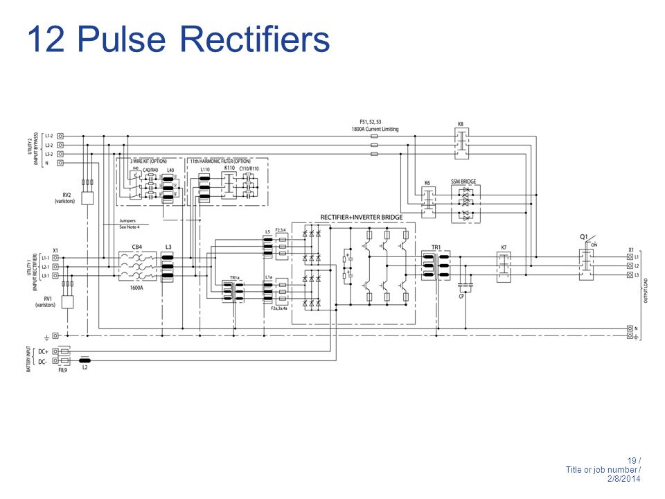 12 Pulse Rectifiers