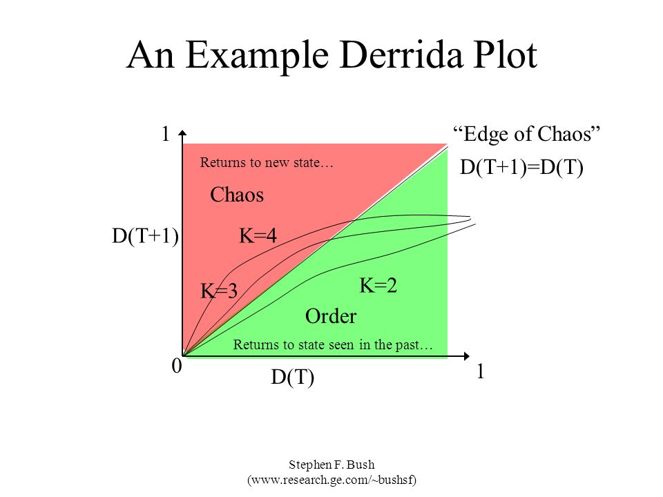 An Example Derrida Plot