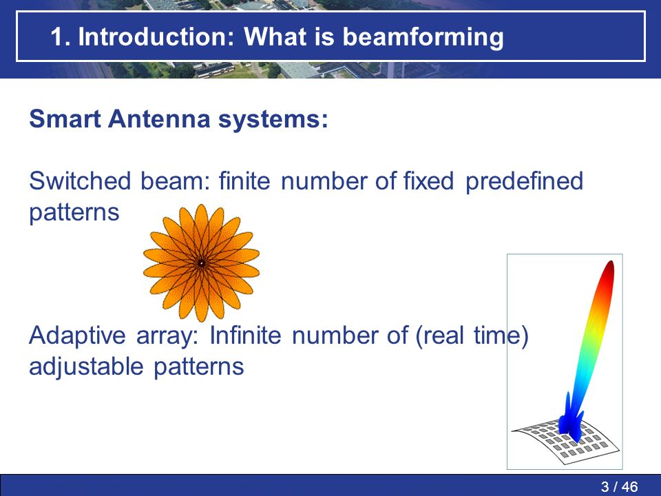 1. Introduction: What is beamforming