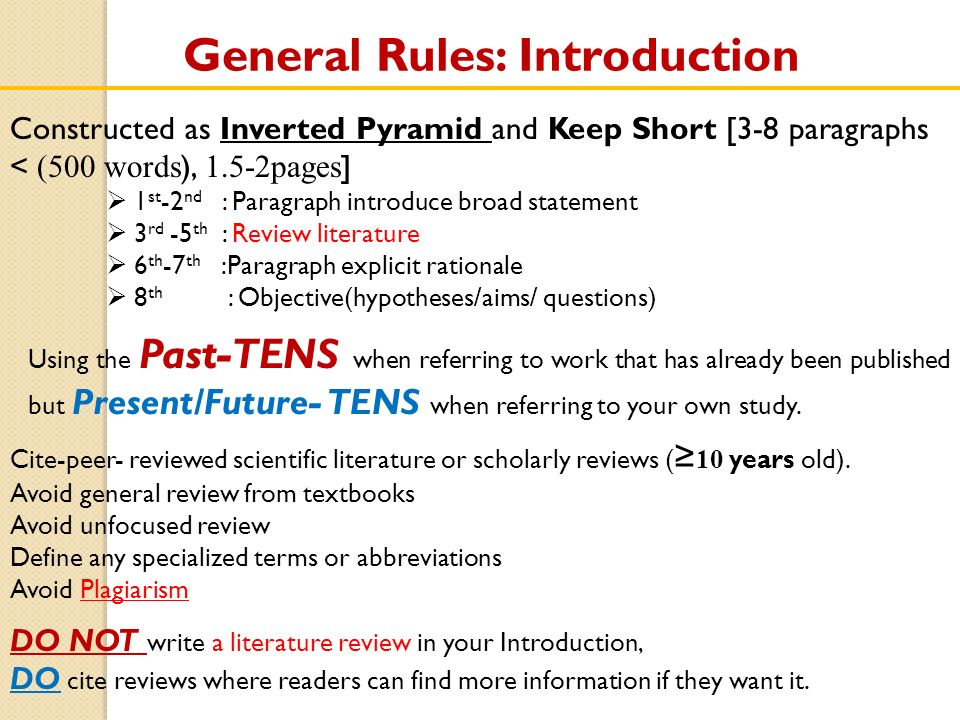 research policy paper apa format introduction