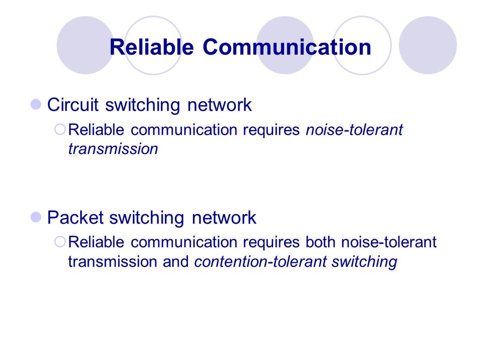Reliable Communication