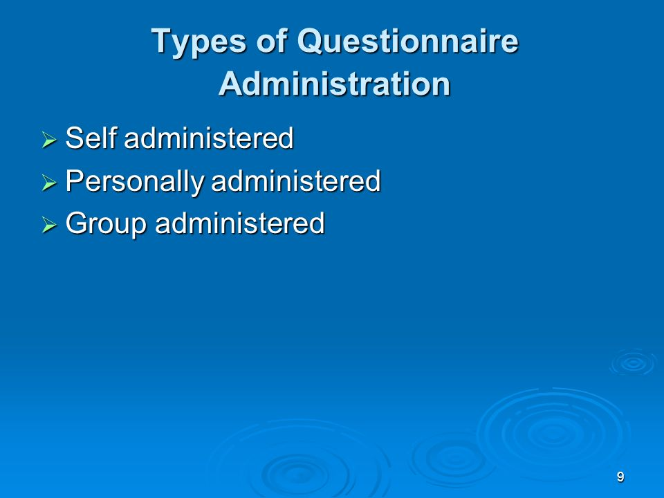 What Are the Administrative Systems and Procedures?
