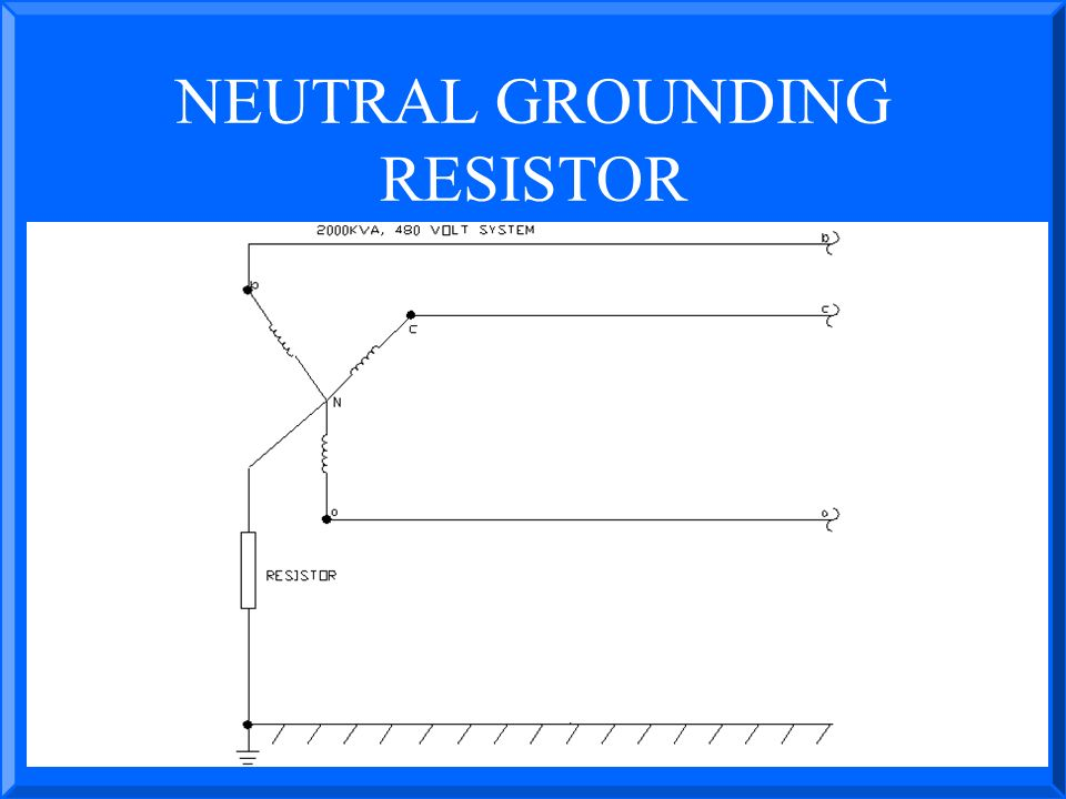 NEUTRAL+GROUNDING+RESISTOR presented by john s levine, p e levine lectronics and lectric neutral grounding resistor wiring diagram at gsmx.co