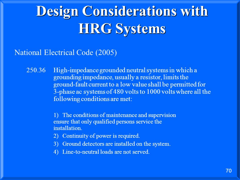 Design Considerations with HRG Systems
