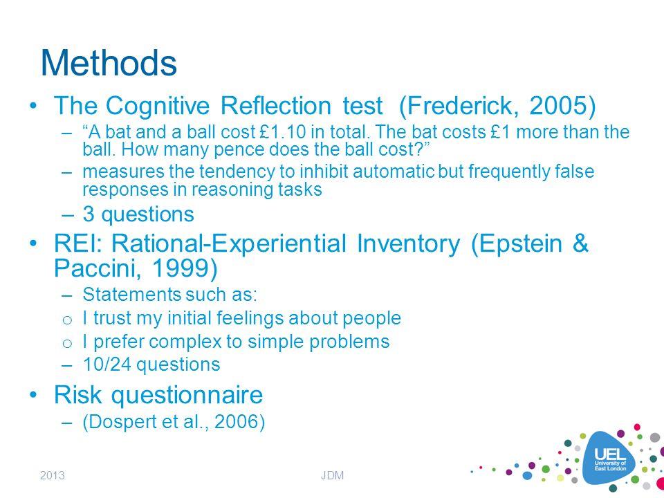 cognitive reflective