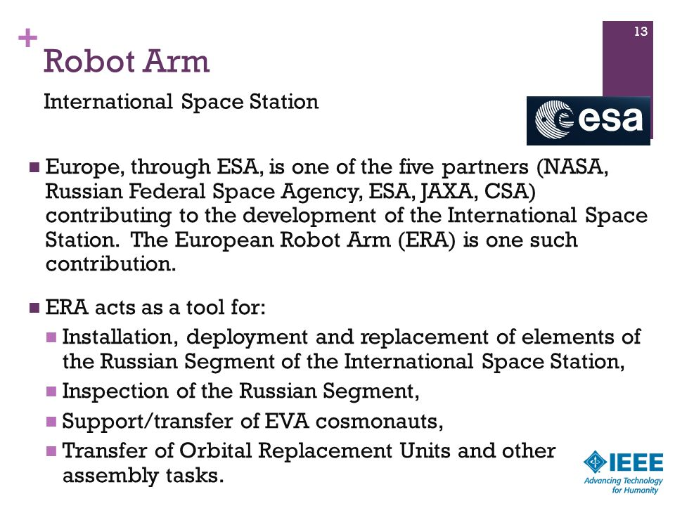Robot Arm International Space Station