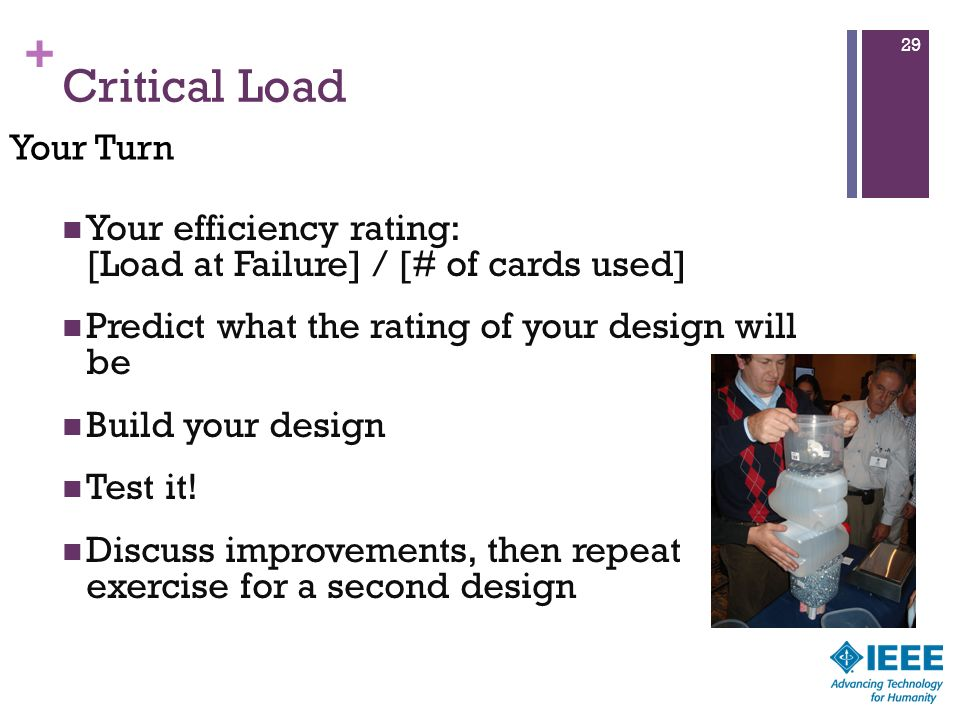 Critical Load Your Turn