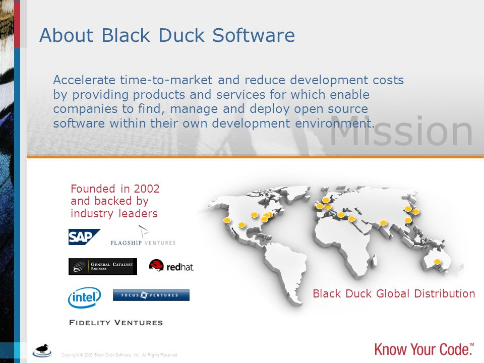 About Black Duck Software