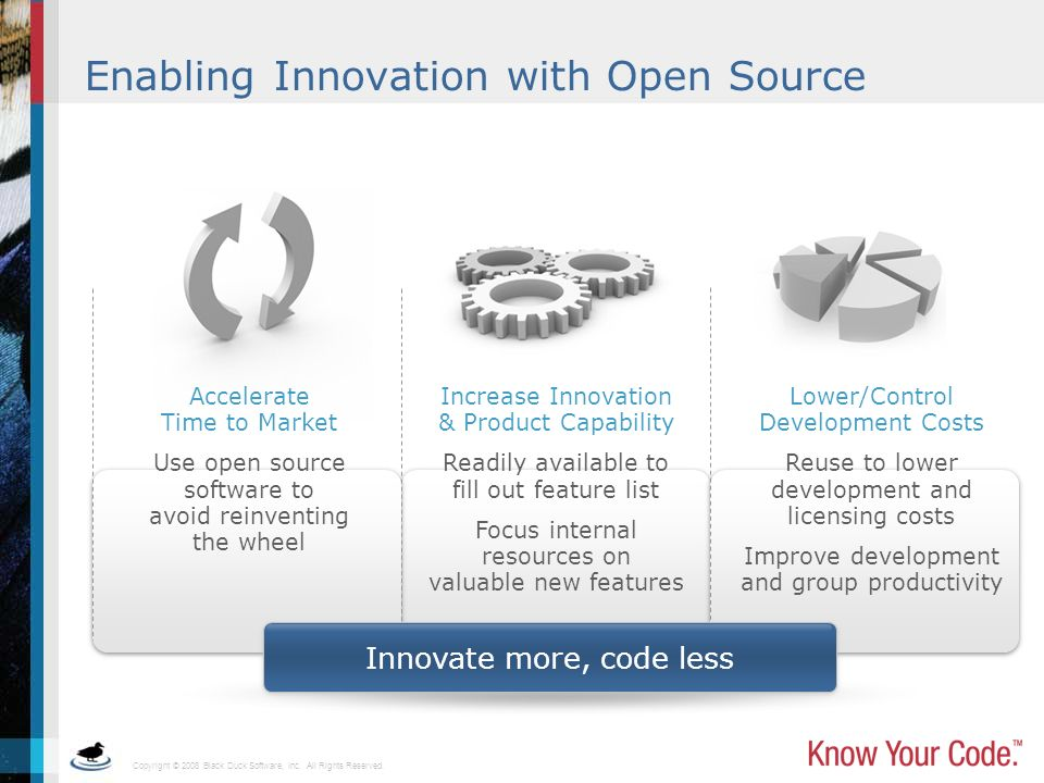 Enabling Innovation with Open Source