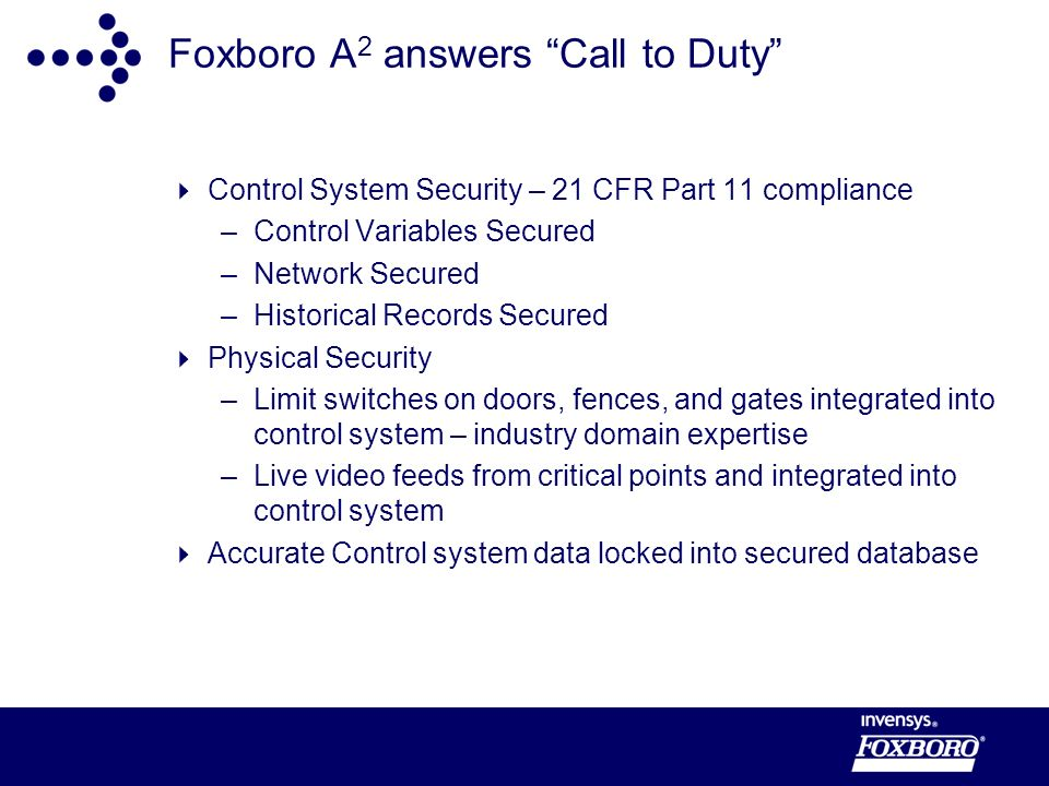 Foxboro A2 answers Call to Duty