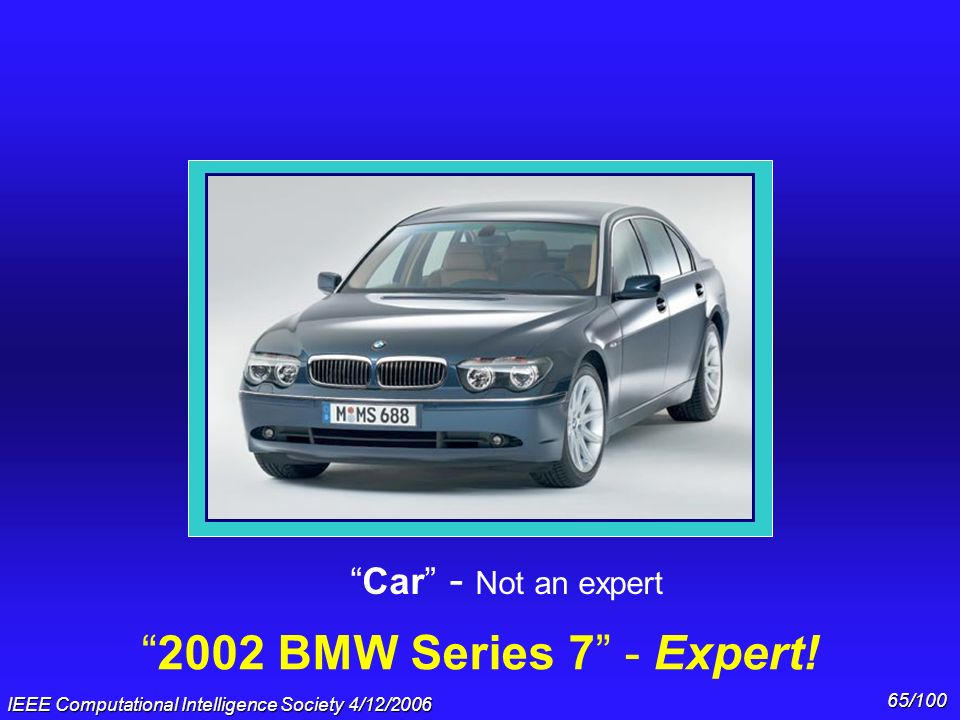 2002 BMW Series 7 - Expert! Car - Not an expert