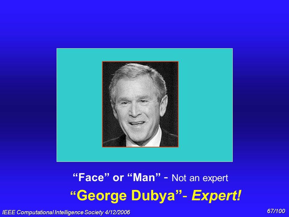 George Dubya - Expert!