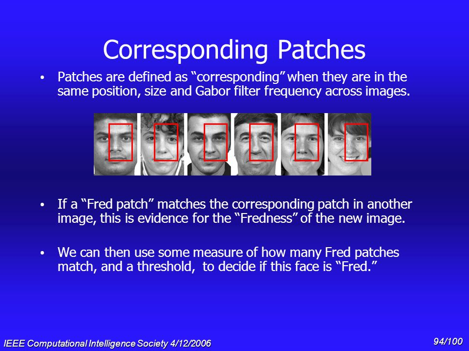 Corresponding Patches