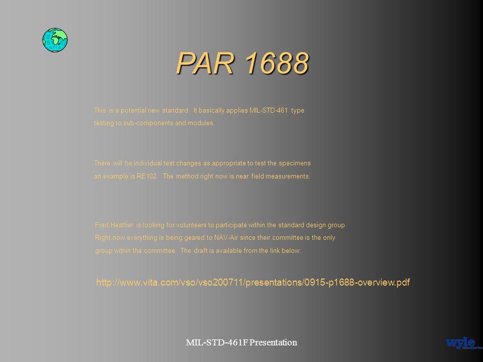 MIL-STD-461F Presentation