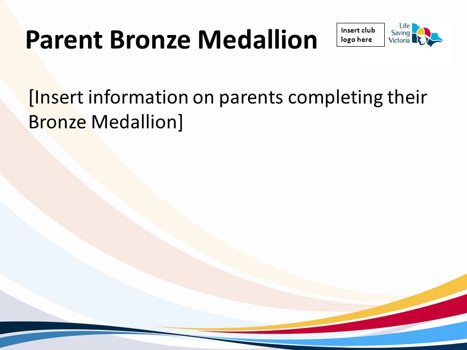 Parent Bronze Medallion