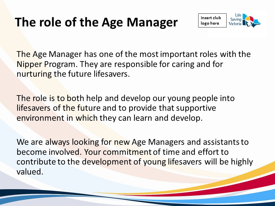 The role of the Age Manager