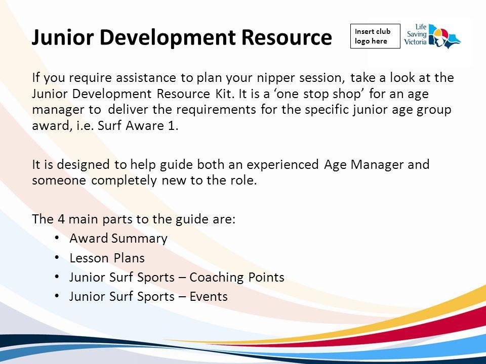 Junior Development Resource