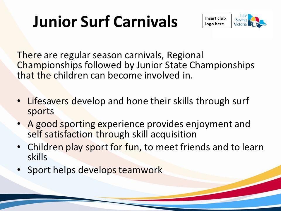 Junior Surf Carnivals