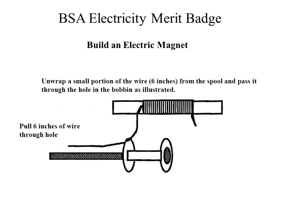 Build an Electric Magnet