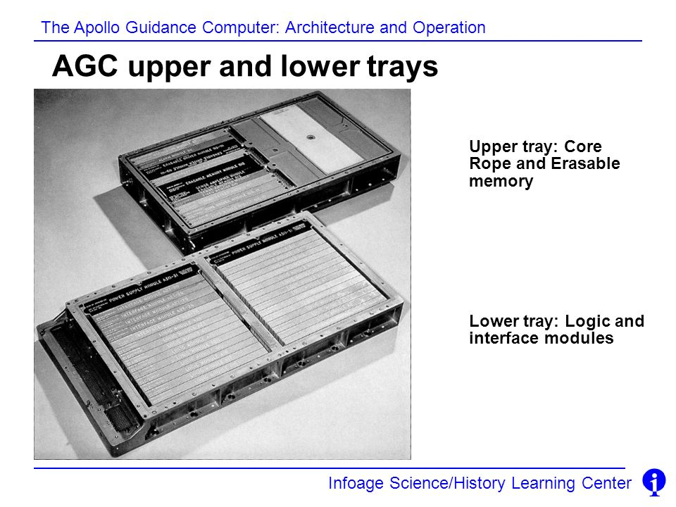 AGC upper and lower trays