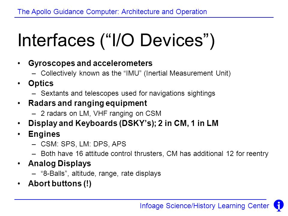 Interfaces ( I/O Devices )