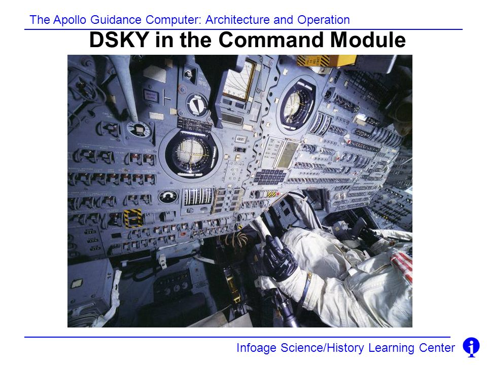 DSKY in the Command Module