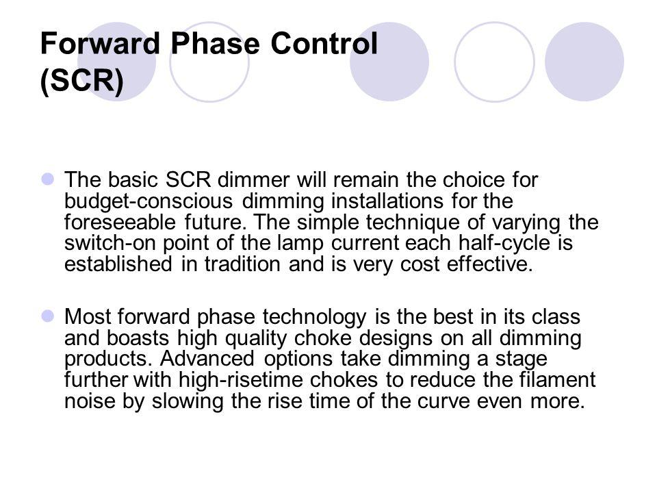 Forward Phase Control (SCR)