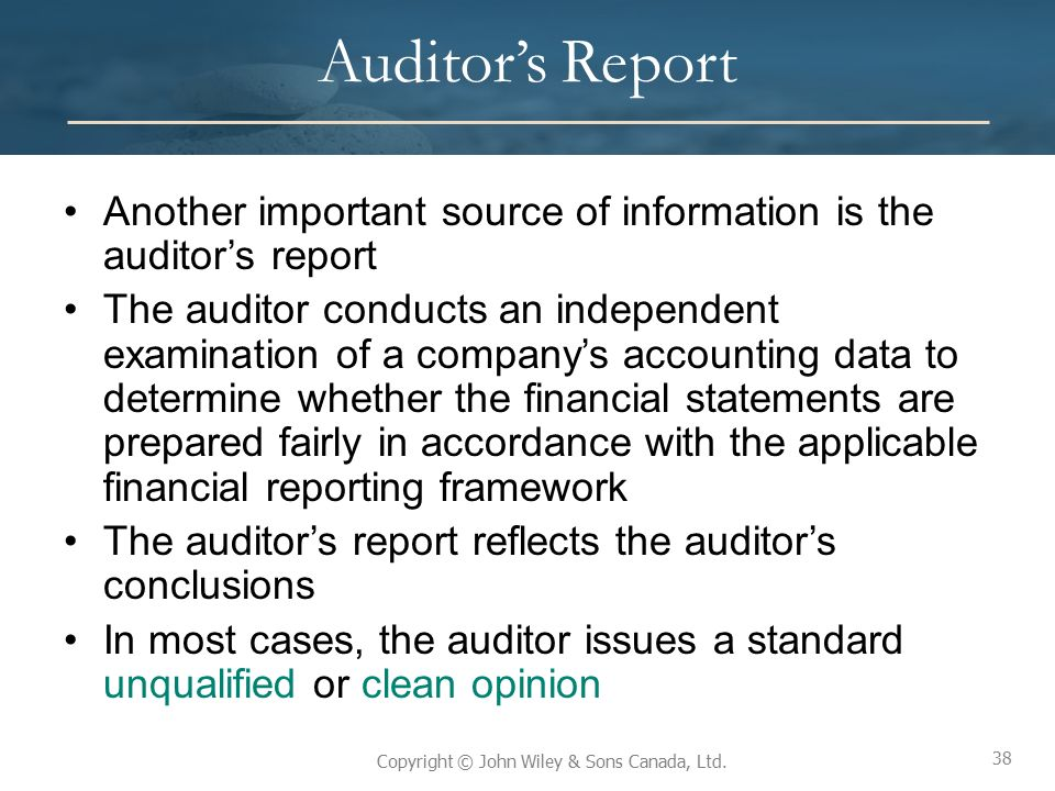 the importance of audit independence Given the importance of financial statements and the risk that they will  after  reviewing the act's provisions regarding auditor independence,.