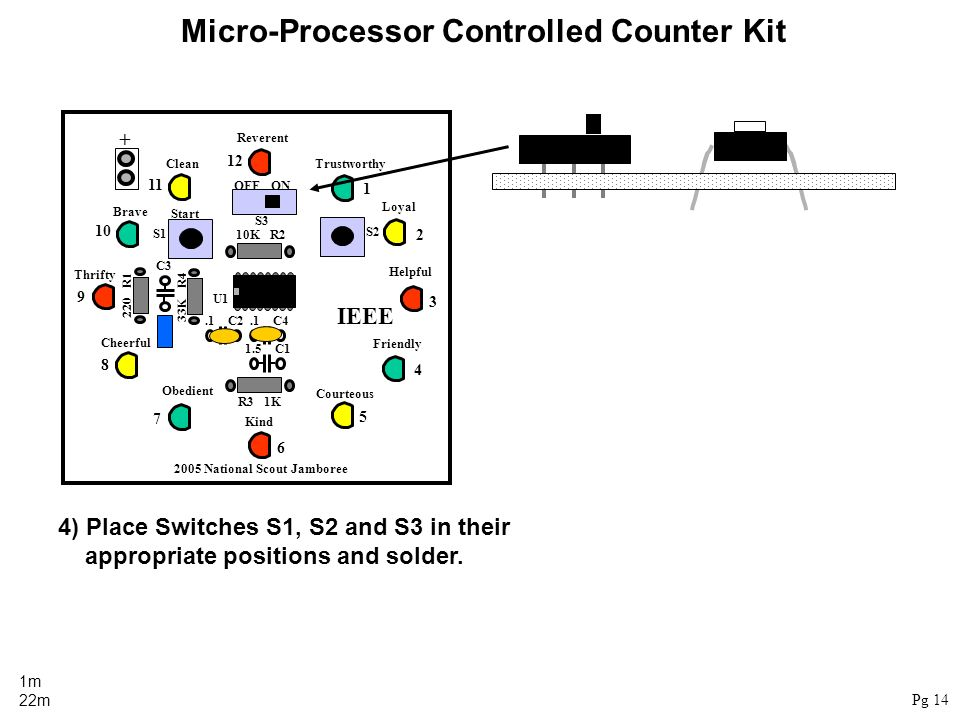 Micro-Processor Controlled Counter Kit