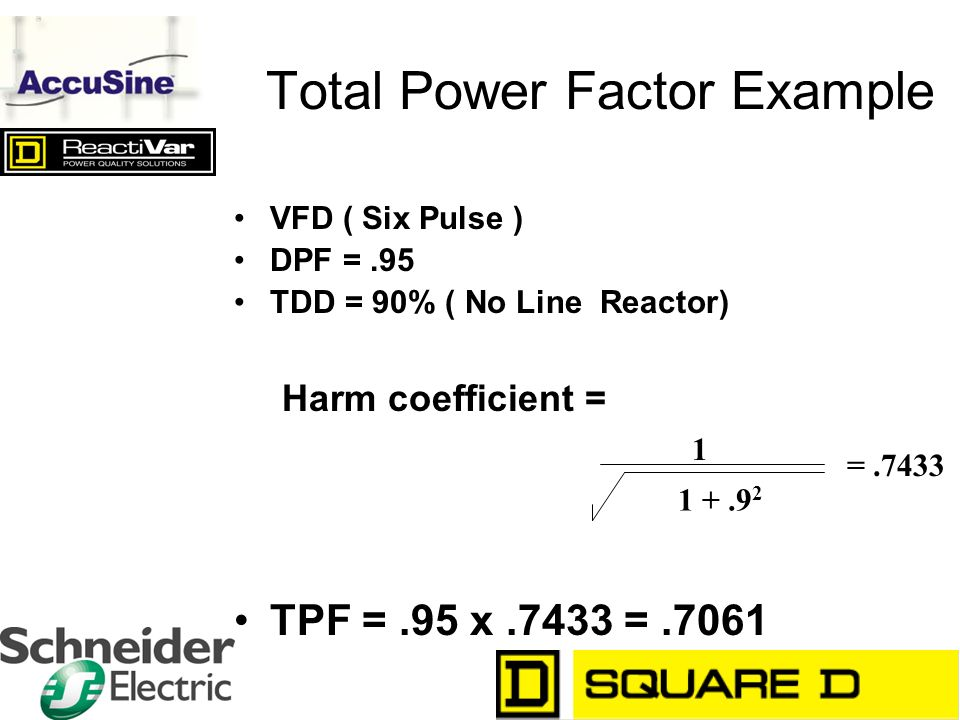 Total Power Factor Example