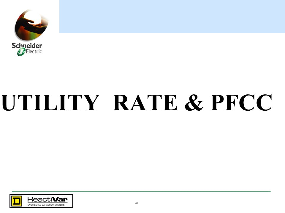 UTILITY RATE & PFCC