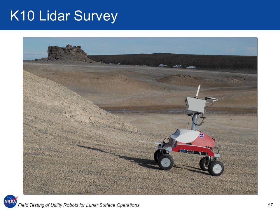 K10 Lidar Survey