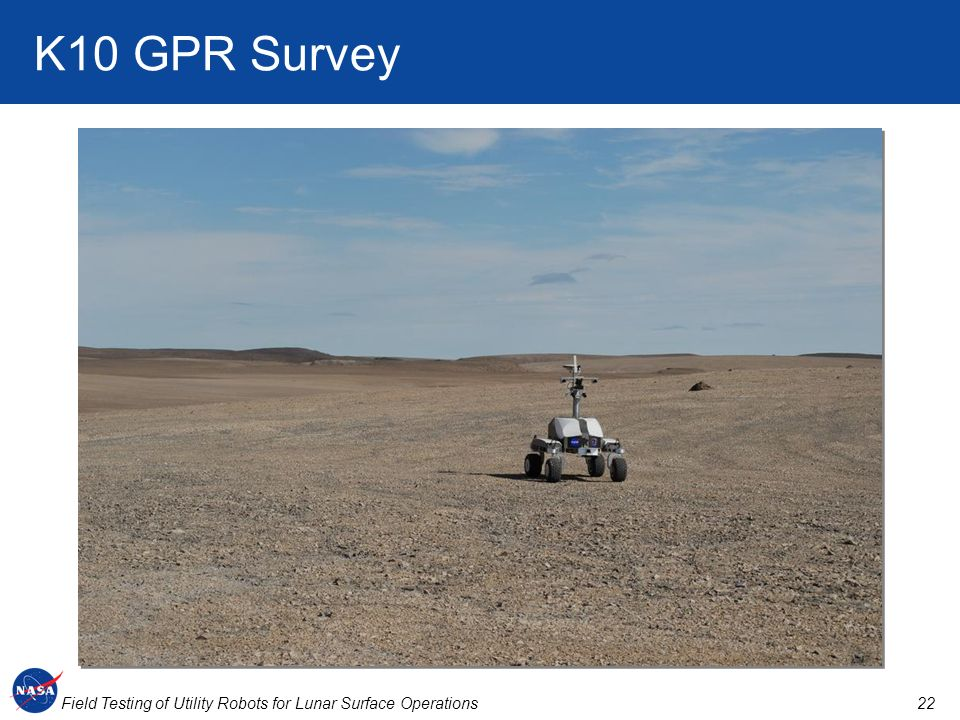 K10 GPR Survey