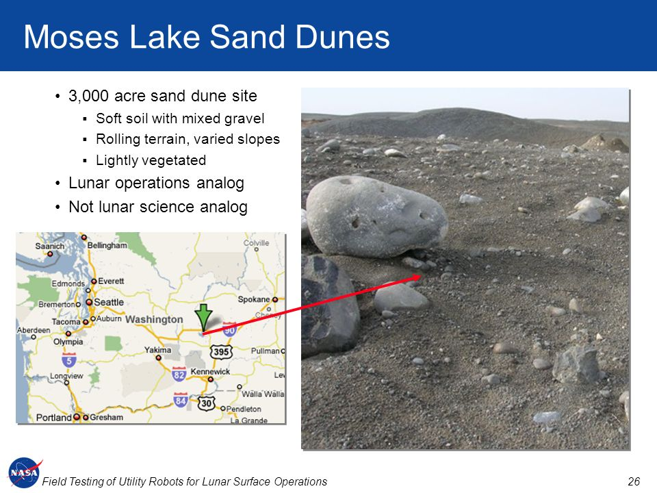 Moses Lake Sand Dunes 3,000 acre sand dune site