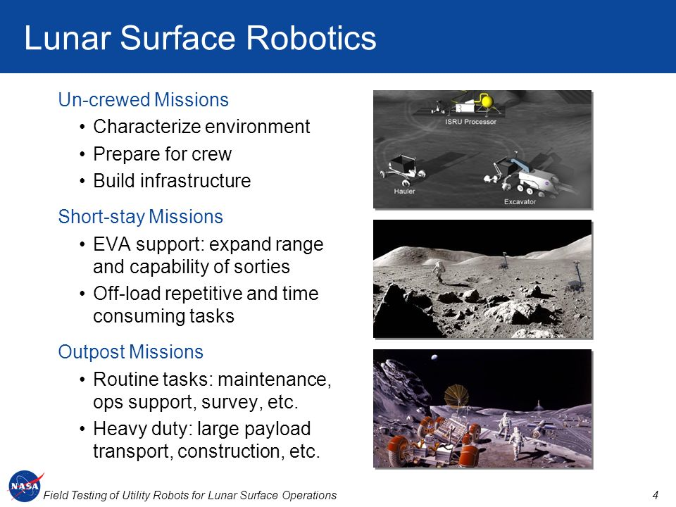 Lunar Surface Robotics