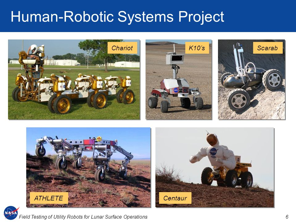 Human-Robotic Systems Project