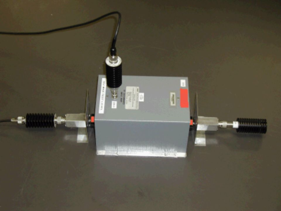 CDN setup for calibration. EUT side is on the left
