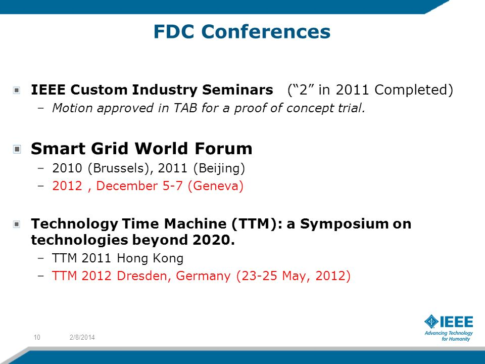 FDC Conferences Smart Grid World Forum