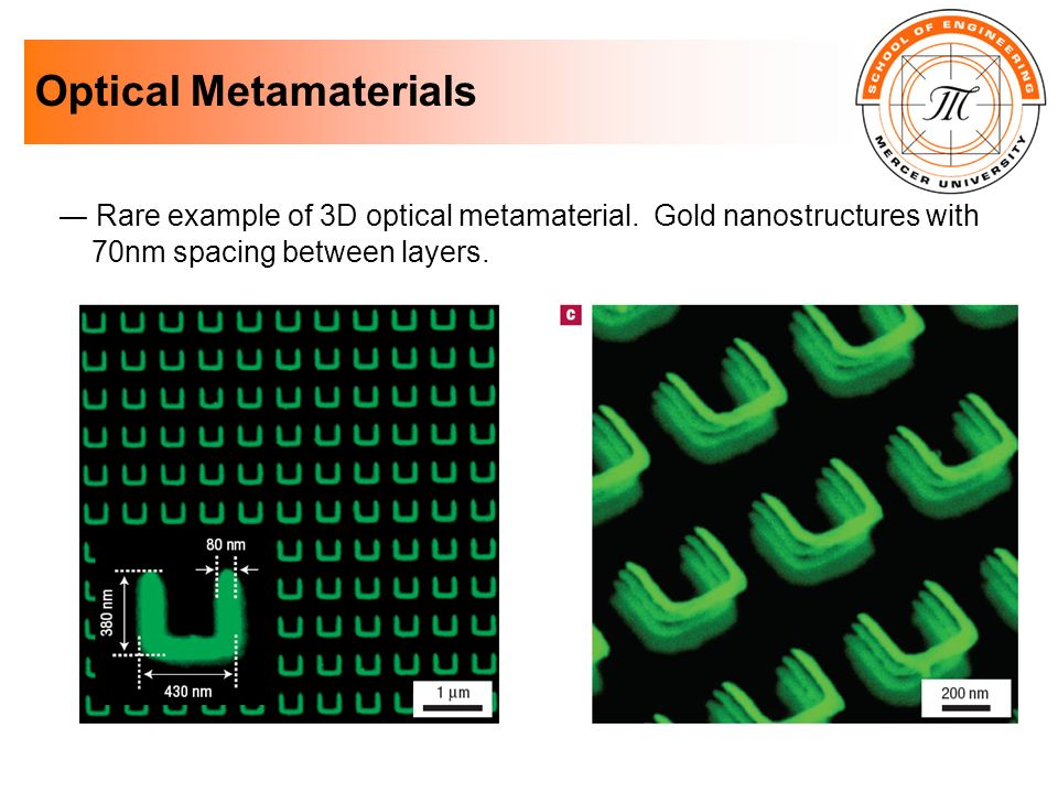 Optical Metamaterials