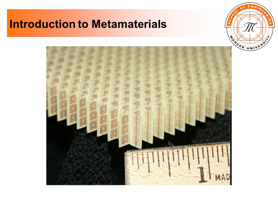 Introduction to Metamaterials