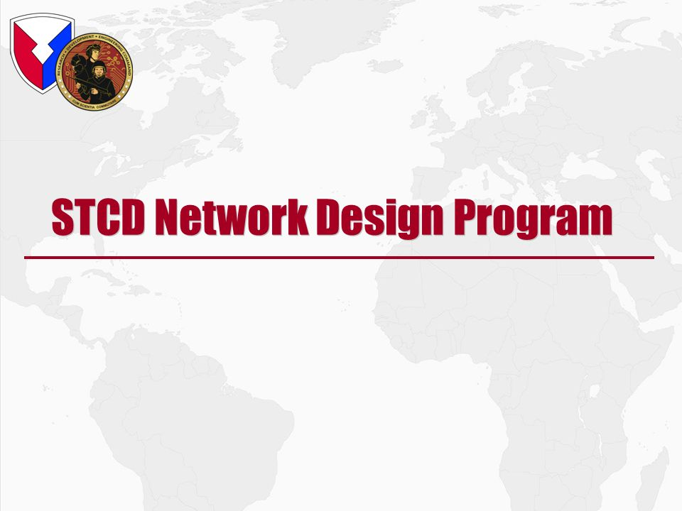 STCD Network Design Program