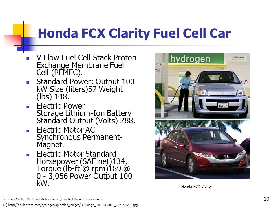 Honda FCX Clarity Fuel Cell Car