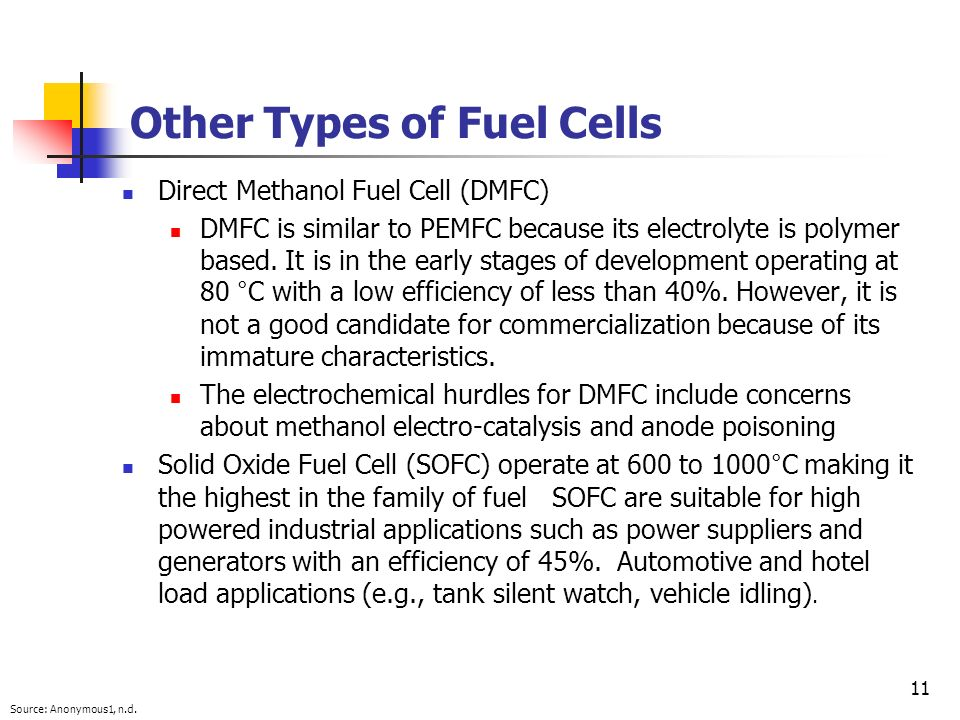Other Types of Fuel Cells