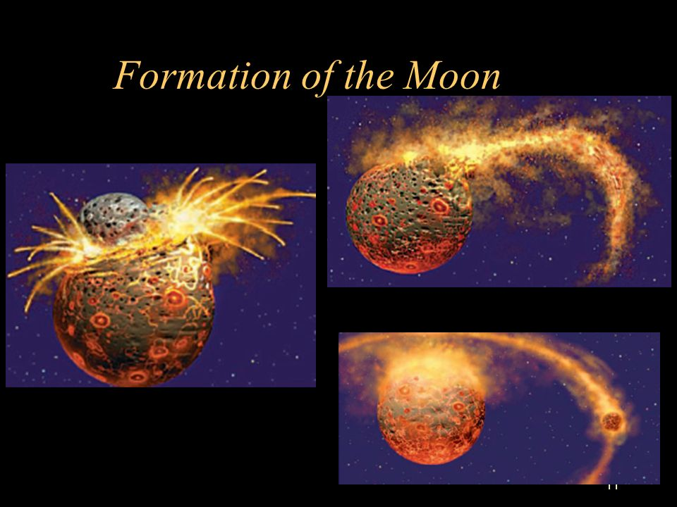 formation of earth and moon - photo #22